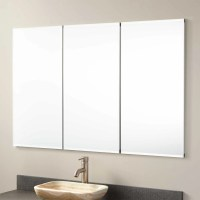 "48"" Furview Recessed Mount Medicine Cabinet with Mirror"