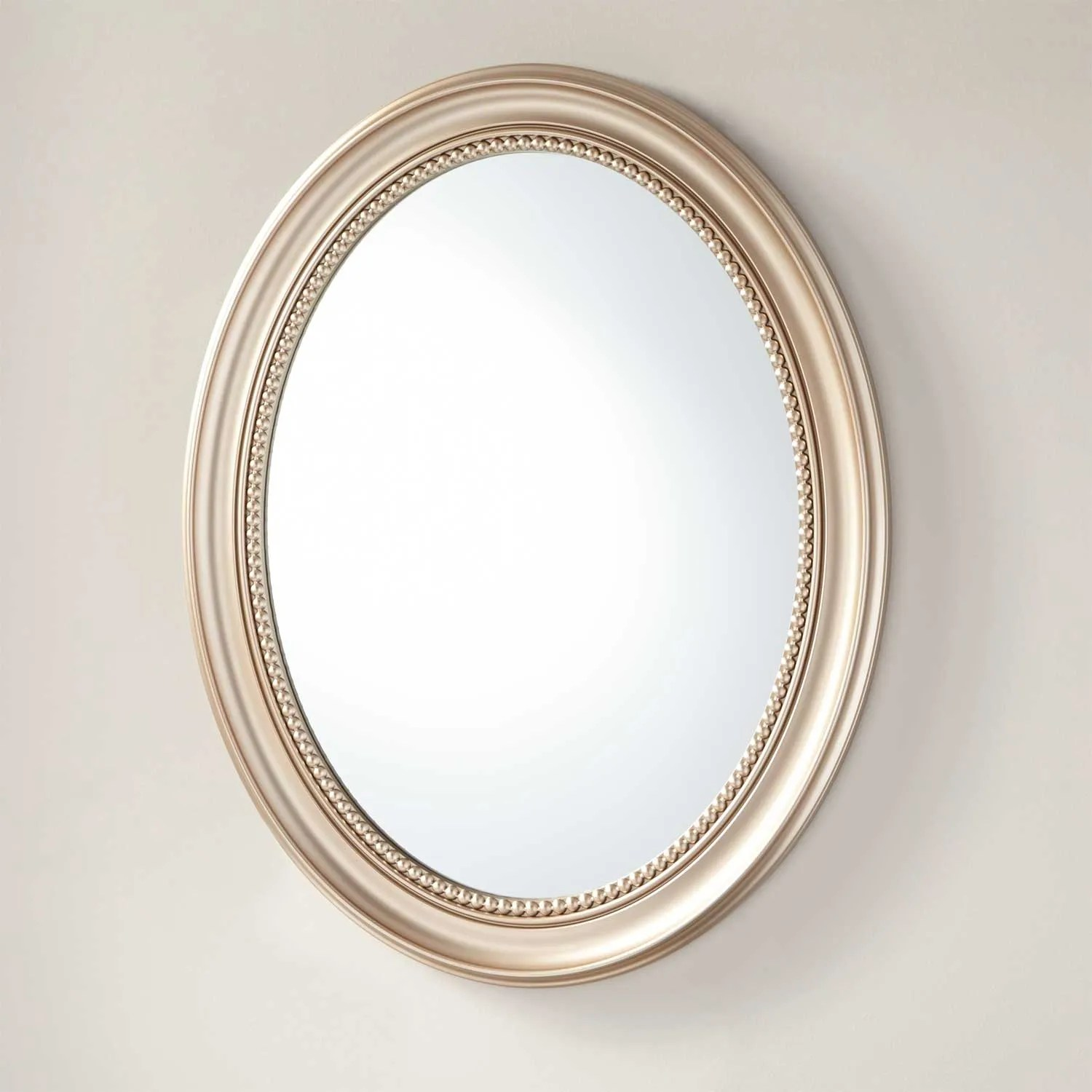 Favaloro Recessed Mount Oval Medicine Cabinet with Mirror