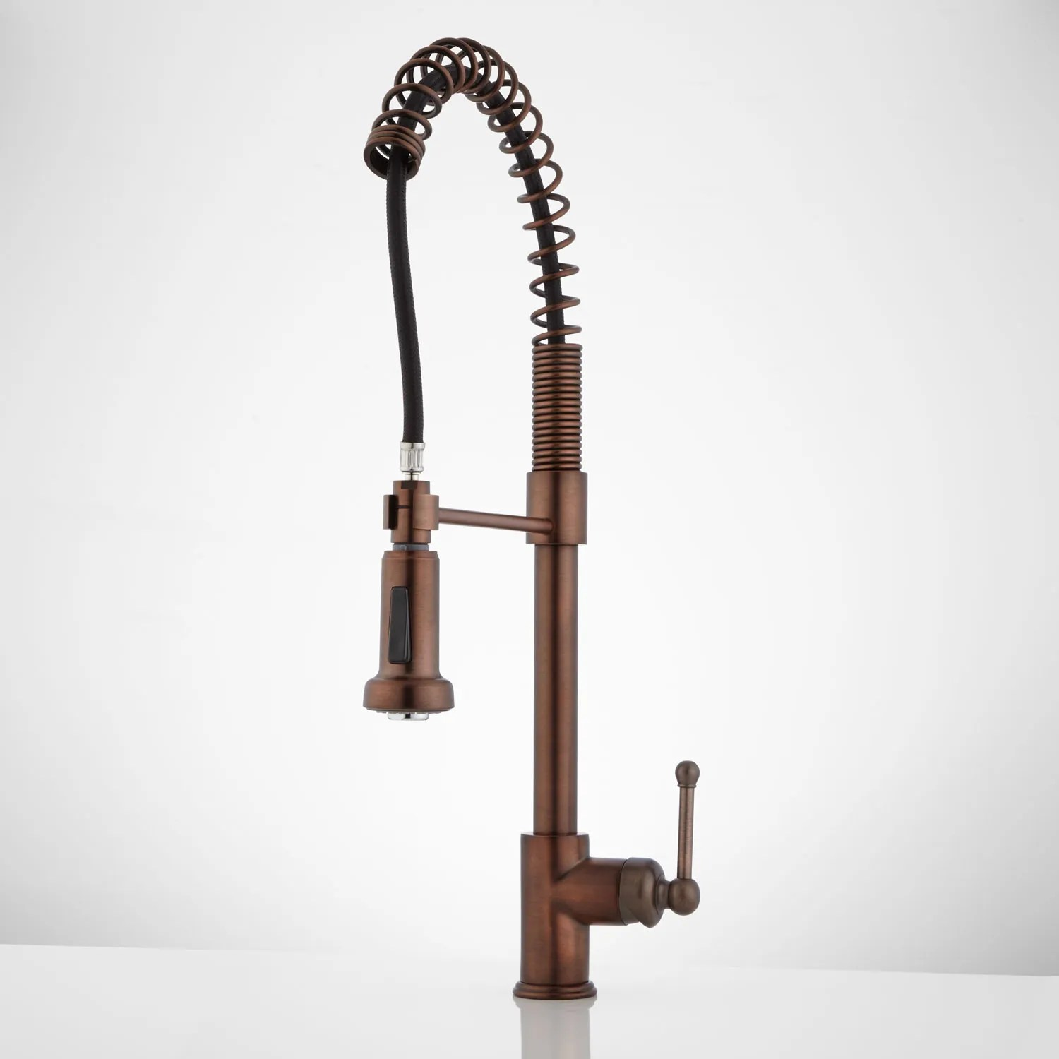 rachel pull down kitchen faucet with spring spout kitchen faucet bronze Oil Rubbed Bronze