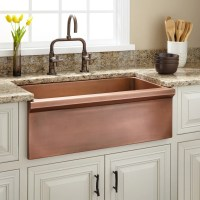 "30"" Bria Copper Farmhouse Sink - Kitchen"