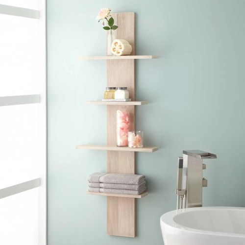Medium Of Wall Shelf For Bathroom