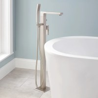 Ryle Freestanding Tub Faucet and Hand Shower - Bathroom