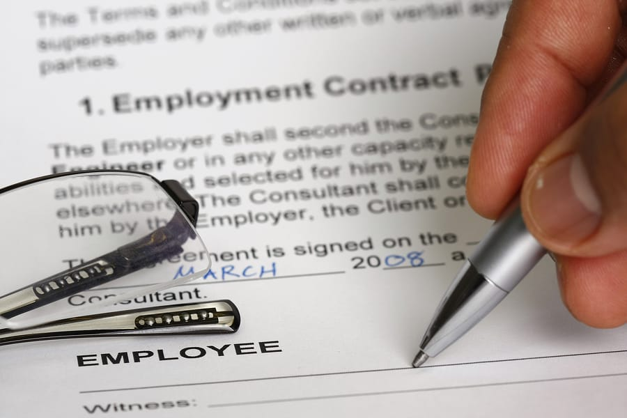 Employment Contract - The Must Haves - Signature Staff Australia Cairns