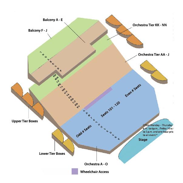 Seating Chart \u2013 Signature Symphony