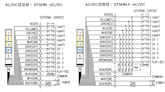 855e stack light wiring diagram
