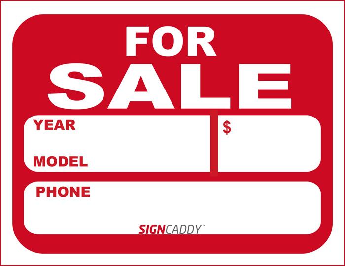 car sale sign template - car sale sign template