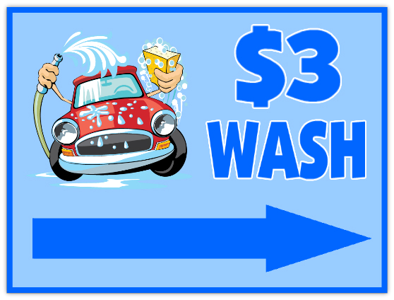 Car Wash Sign 104 Auto Sign Templates, Car Signs