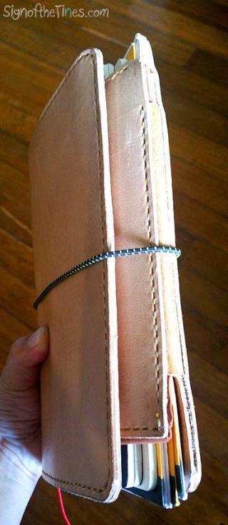 Sunday Leather Craft Travaler's Notebooks- pen case