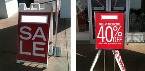 How to Rock the Sale Sign Signs Blog - sale signs