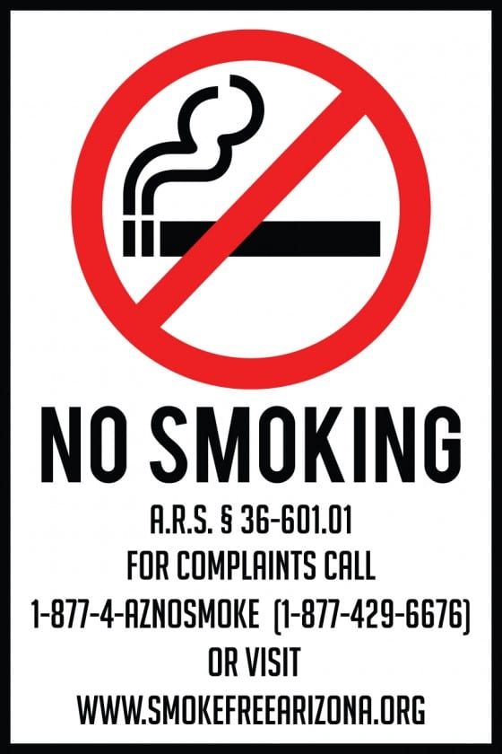 No Smoking Laws For All Fifty States Signs Blog