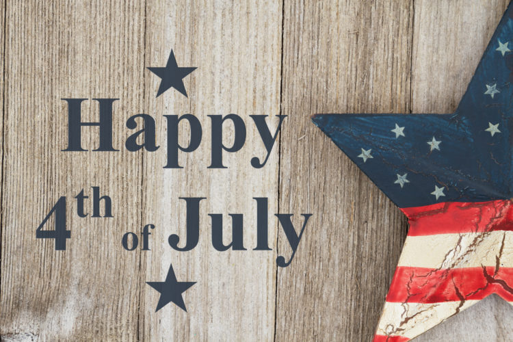 Closed July 3 and 4-Signs by Connie will observe the holiday weekend