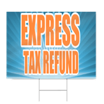 Tax Signs | SignsToYou.com