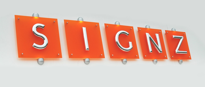 Chromaform Letters, Stainless Steel  Chrome Sign Letters Online