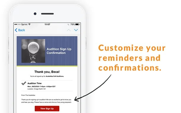 Genius Hack Create Custom Reminders and Confirmation Messages