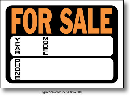 for sale signs for cars - Ozilalmanoof - car sale sign template