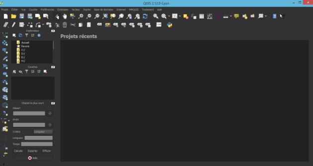 interface Nught mapping de QGIS 2.12