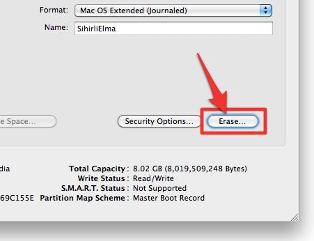 sihirli elma disk format bicimlendirmek 6 Mac101: Nasıl format atılır? (Bir diski biçimlendirmek)