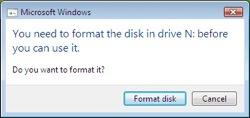 sihirli elma disk format bicimlendirmek windows Mac101: Nasıl format atılır? (Bir diski biçimlendirmek)