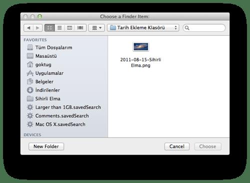 sihirli elma automator 15 select files Automator nedir? Nasıl kullanılır?