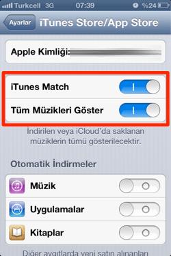 sihirli elma itunes match nedir nasil kullanilir 17b iTunes Match nedir? Nasıl kullanılır?