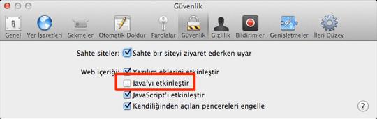 sihirli elma java guvenlik guncelleme 2013 002 3 Java için bir güvenlik güncellemesi daha: 2013 002