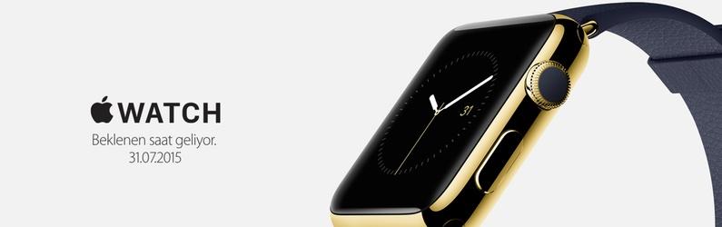 Apple Watch, 31 Temmuz'da Türkiye'de!