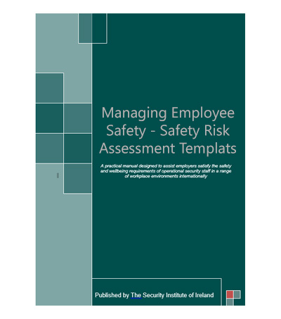 SII Managing Employee Safety u2013 Safety Risk Assessment Templates - safety manual template