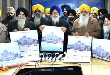 Sikh Calendar Sikhism Religion Of The Sikh People Sgpc Amidst Another Controversy After Launch Of 548th Year