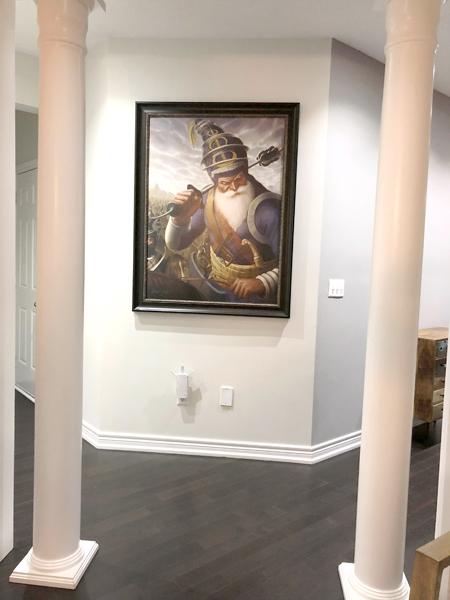 Akali Phula Singh ji - Framed Sikh Prints - Bhagat Singh - Sikhi Art -Jasropp Bains Collection
