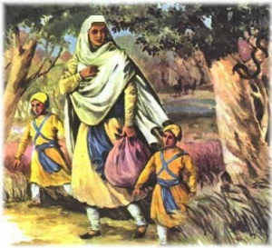 Punjabi Romantic Quotes Wallpaper Mata Gujri Sikhiwiki Free Sikh Encyclopedia