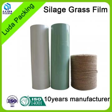 Buy green width hay bale wrapping film low price width silage wrap