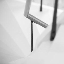 Trappräcke till Metod Arkitekter i Uppsala. Design: Silas Metallkonst