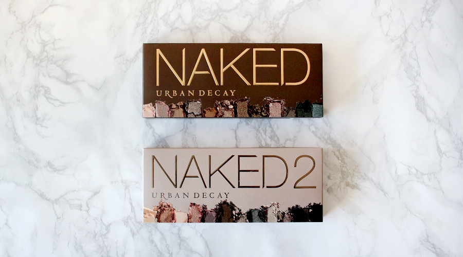 Urban Decay Naked vs Naked 2 Palette Comparison