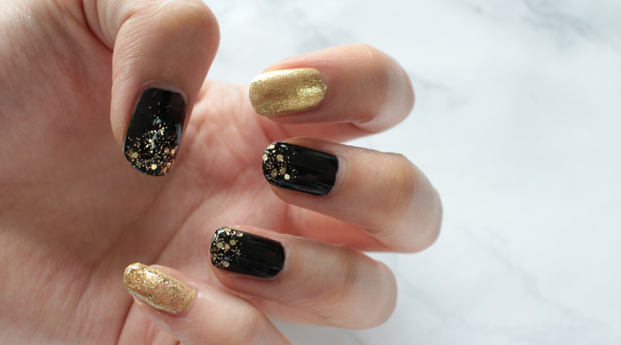 silentlyfree-beauty-nails-holiday-new-years-fireworks-black-gold-glitter-shimmer-18