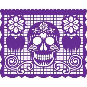 Skullcandy Wallpaper Hd Silhouette Design Store View Design 56347 Papel Picado