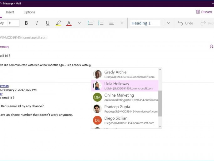 Microsoft Updates Windows 10 Mail And Calendar Apps