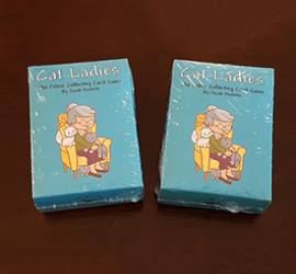 New Cat Ladies Prototype Decks and Tuck Boxes