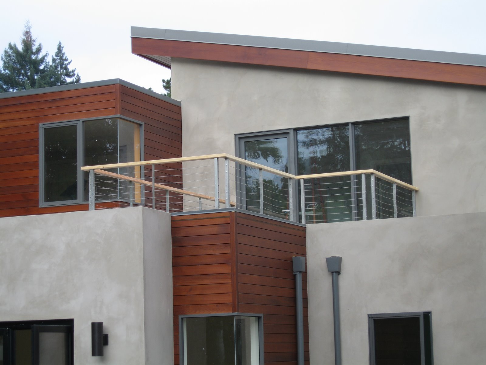 Decorations adorable balcony railing design for modern home ideas using wooden exterior plan how to build a balcony railing for decorative purpos