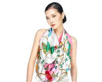 Wensli Women's Silk Scarves - Large Square