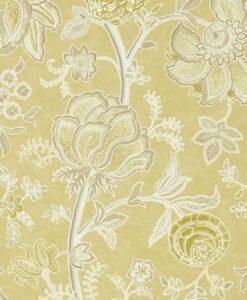 Sanderson Wisteria Falls Wallpaper Juniper Pine Wallpaper Sample