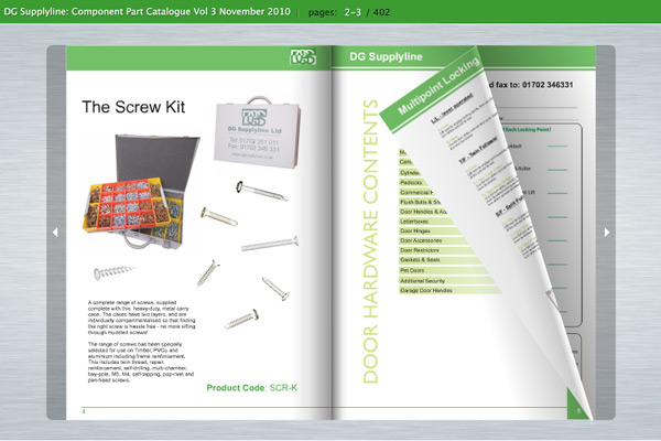 Virtual Brochure/E-Catalogue Examples - Silkstream