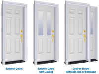 Exterior Door Types | Sill to Sash