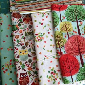 Hoping to play with this forestfriendsfabric from thehenleystudio today! Happyhellip