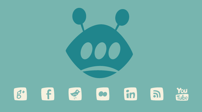 Iconos sociales en WordPress