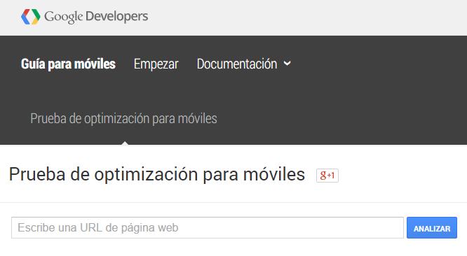 Guía de optimizacíon de Responsive de Google
