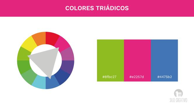 Como crear una paleta de colores para mi web silo creativo - Gama de colores rosas ...