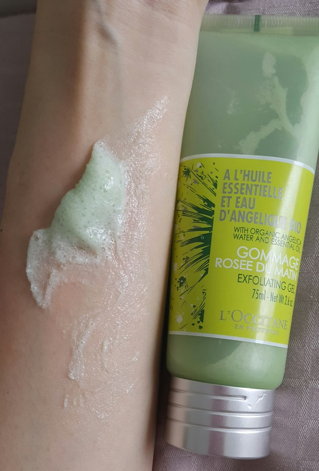 2. L'Occitane Angelica Exfoliating Gel 【RM113/ 75ml @ L'Occitane】