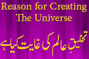 Reason for Creating the Universe