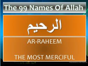 Ya Raheem