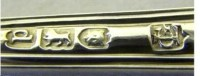 English silver hallmarks: British maker's marks ...